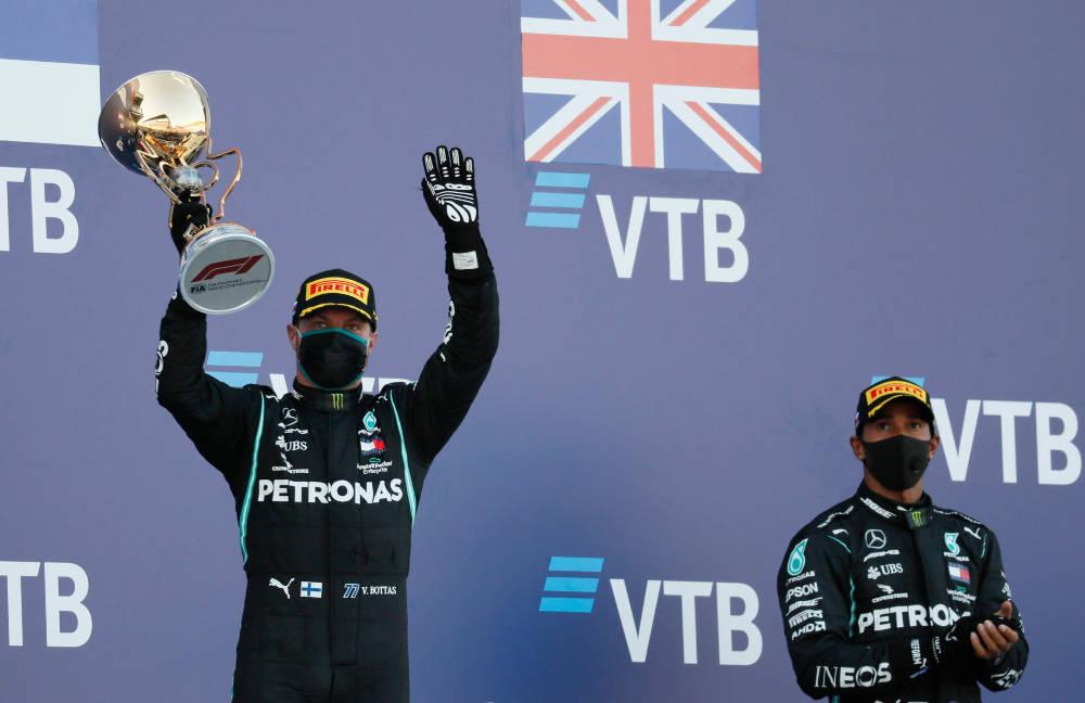 Grand prix Russie 2020 podium