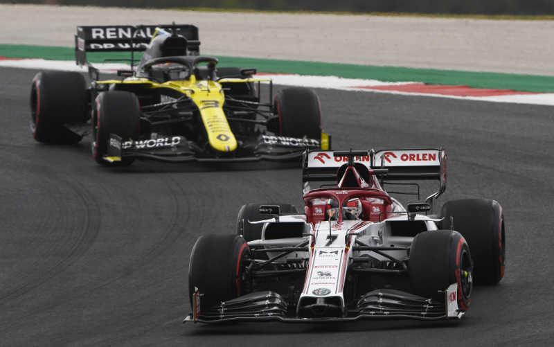 Kimi Raikkonen Grand Prix Portugal 2020