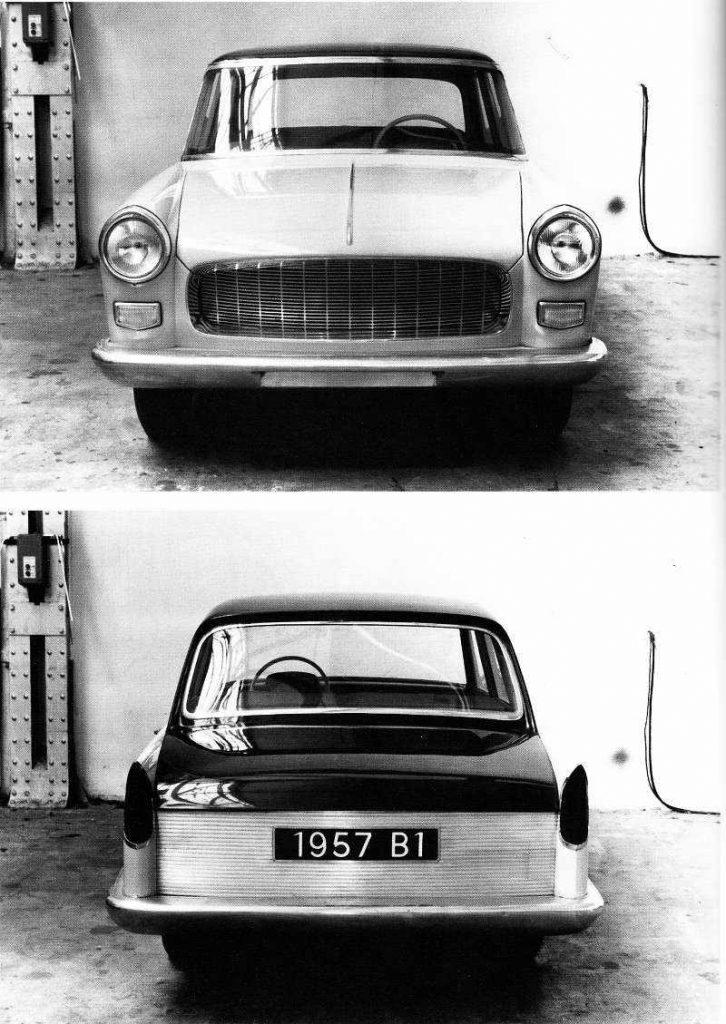 Peugeot 404 1957