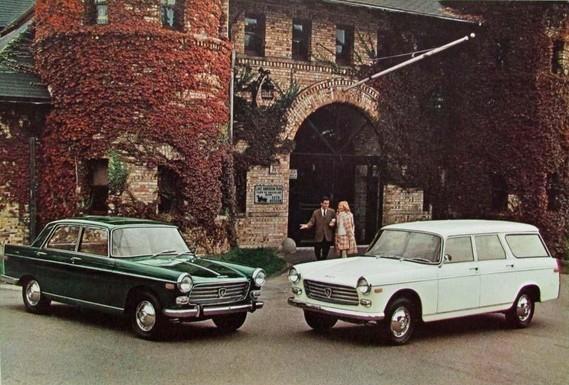 Peugeot 404 Etats Unis