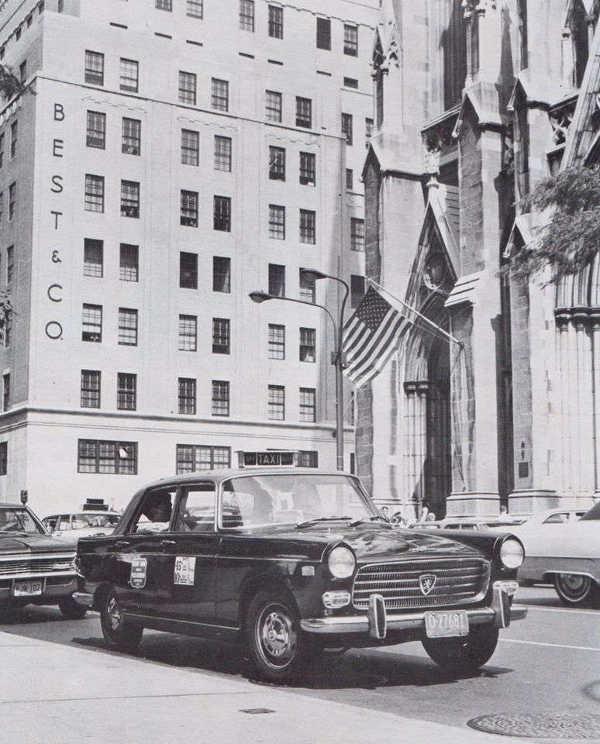 Peugeot 404 New York
