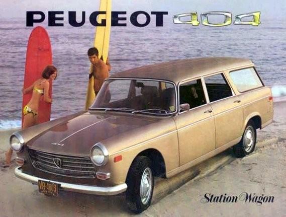 Peugeot 404 Station Wagon USA