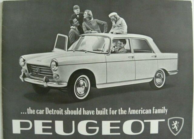 Peugeot 404 aux USA