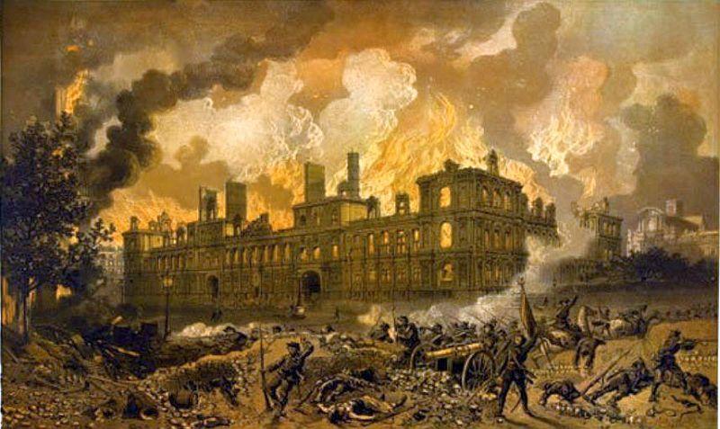 incendie hotel de ville 1871