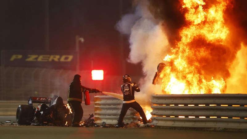 Grosjean Bahrein Grand Prix 2020