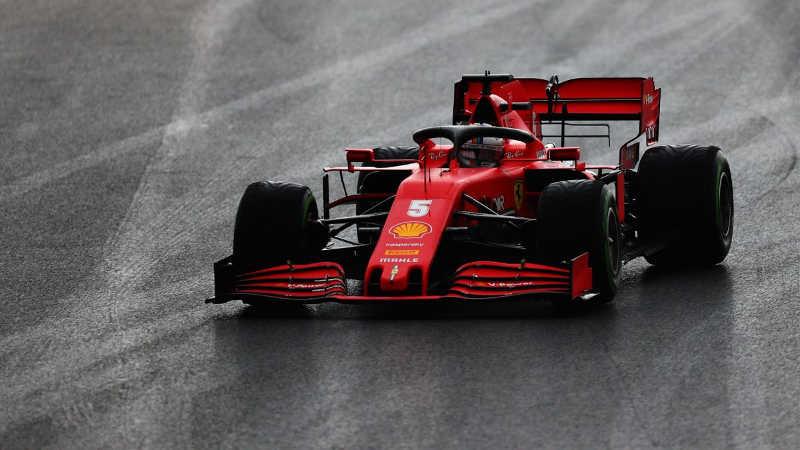 Sebastien Vettel Grand prix de turquie 2020