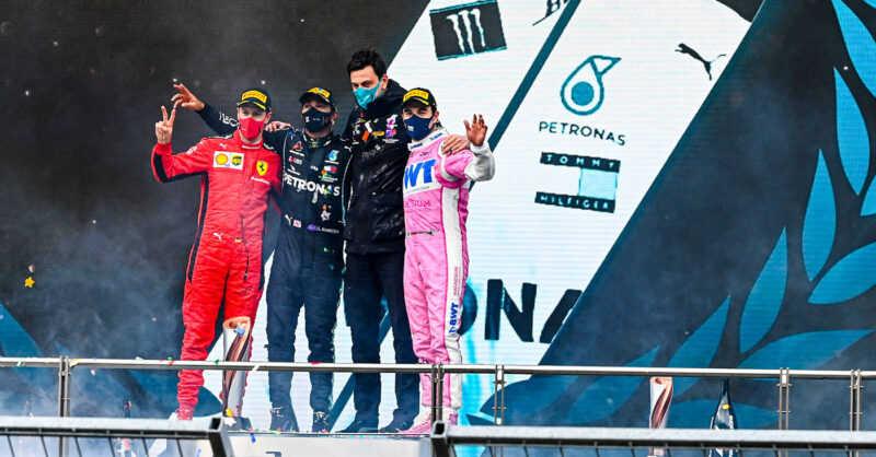 podium grand prix de turquie 2020