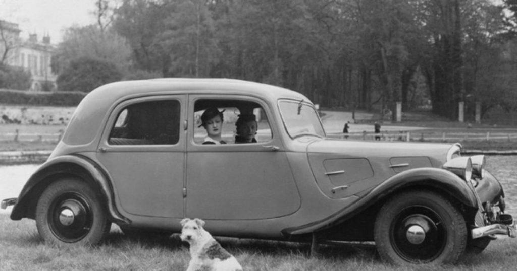 Citroen Traction grandes dates automobile