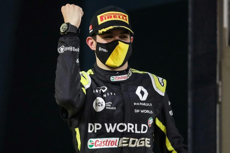 Esteban Ocon Grand Prix Sakhir 2020