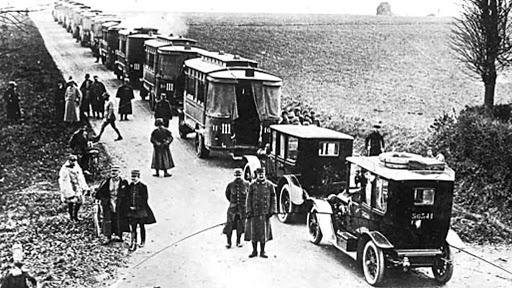 Les grande dates automobile taxi de la Marne