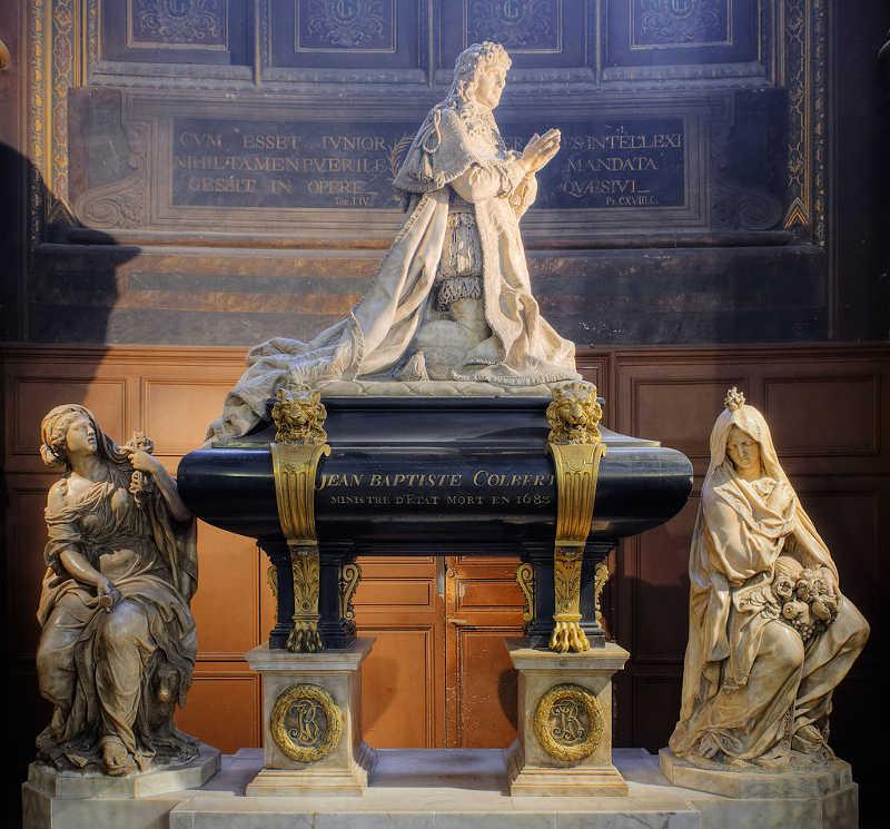 tombeau Colbert Saint Eustache