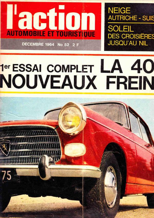 Peugeot 404 Action Automobile