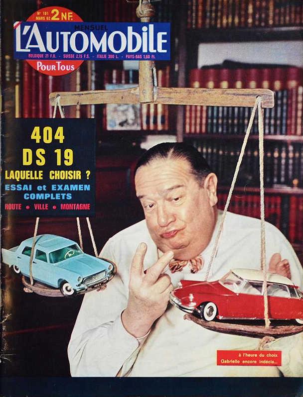 Peugeot 404 automobile