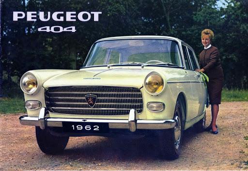Peugeot 404 technique
