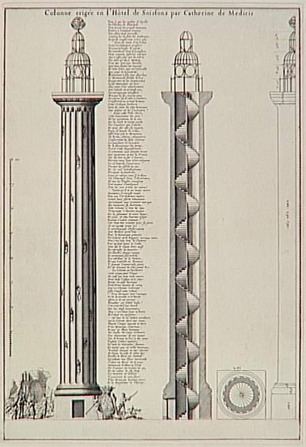 colonne medicis coupe