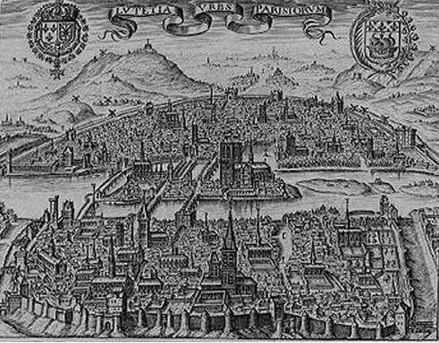 Paris vers 1600