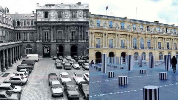 Paris colonnes de Buren