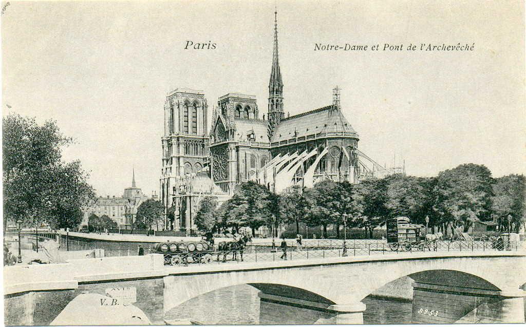 pont de l'archeveche paris