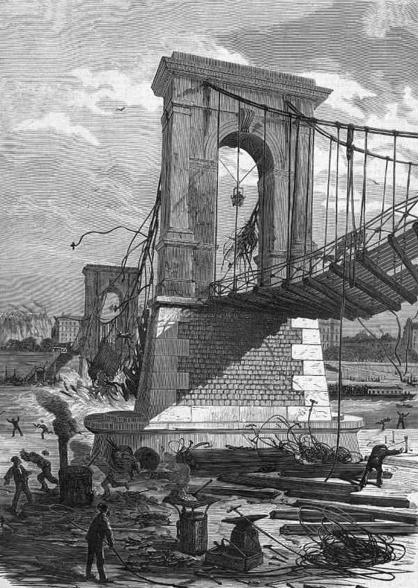 passerelle de constantine 1872 écroulement