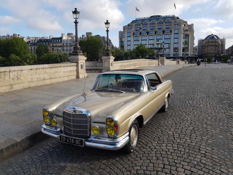 Mercedes w111 coupe pont neuf