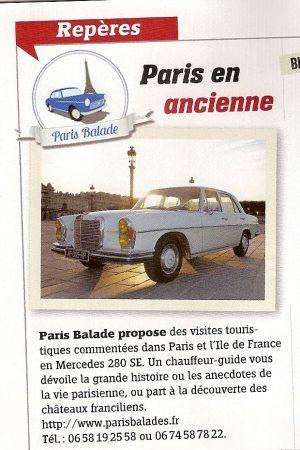 EtoilePassion Paris Balade