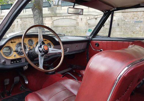 Fiat 2300 Coupe intérieur