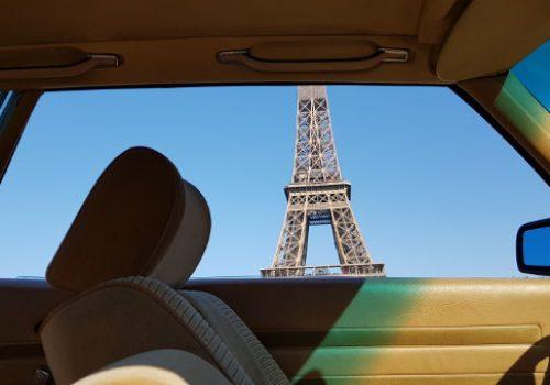 Mercedes 280 SLC Tour Eiffel