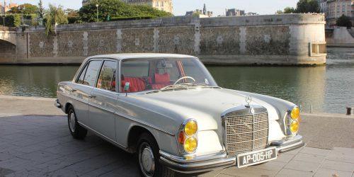 Mercedes 280SE Paris