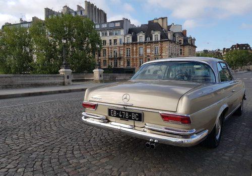 Mercedes 280se coupe Paris