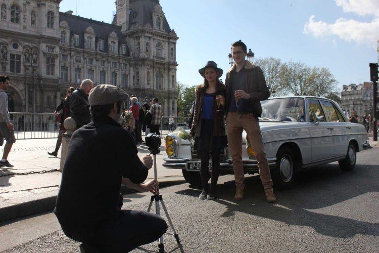 Option Photos Paris Balade Mercedes w108