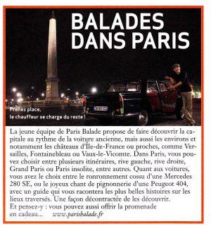 Paris Balade Classic & Sports Car