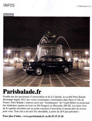 Paris balade retroviseur