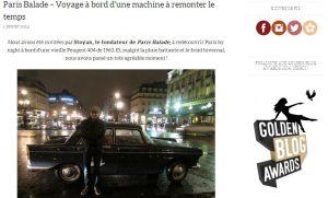 Paris sur un fil article