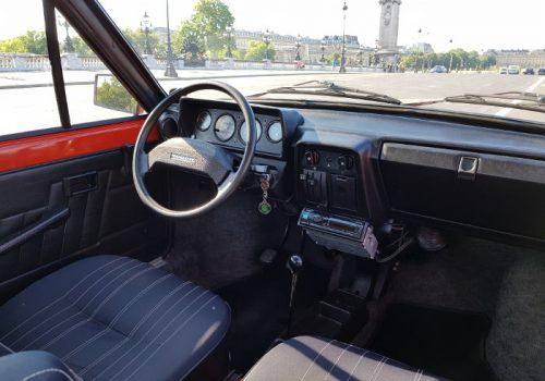 Skoda 120L interieur