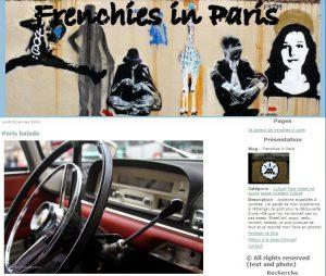 article Paris balade frenchies in paris