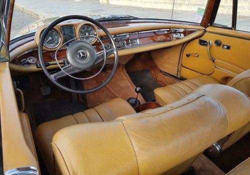 interieur mercedes w111 coupe